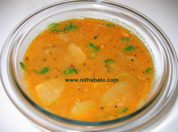 Nithu's Kitchen: Chow-Chow / Chayote Sambar