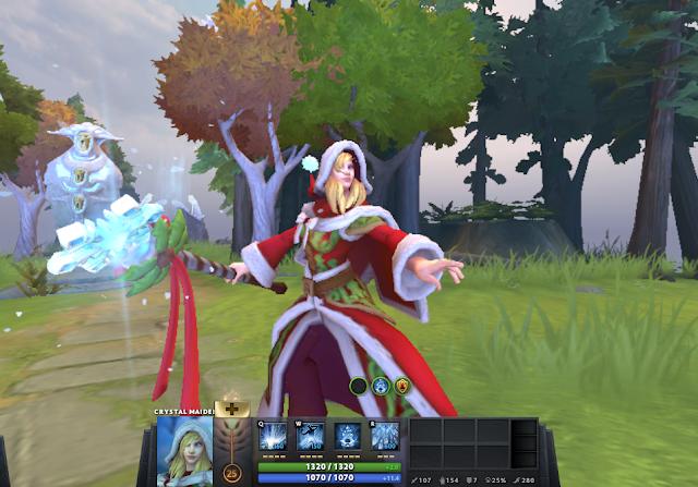 Mod Jaina Santa Crystal Maiden