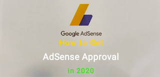 How do I get adsense approval in 2020? in Hindi.