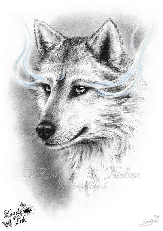 13-Moon-Spirit-Wolf-Zindy-Nielsen-Fantasy-Animals-Meet-Realistic-Ones-www-designstack-co