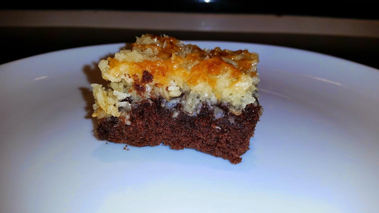 chokoladetærte med karamel