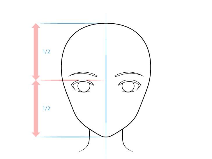 Gambar mata anime realistis