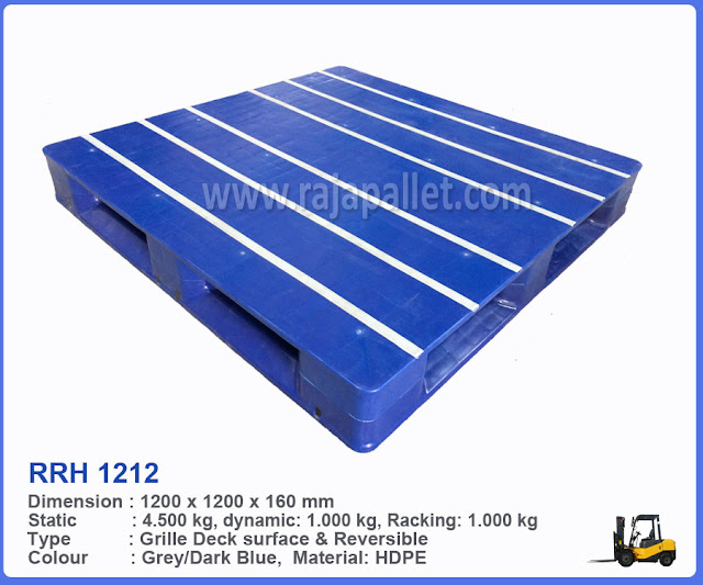 Pallet Plastik Hygiene RRH 1212