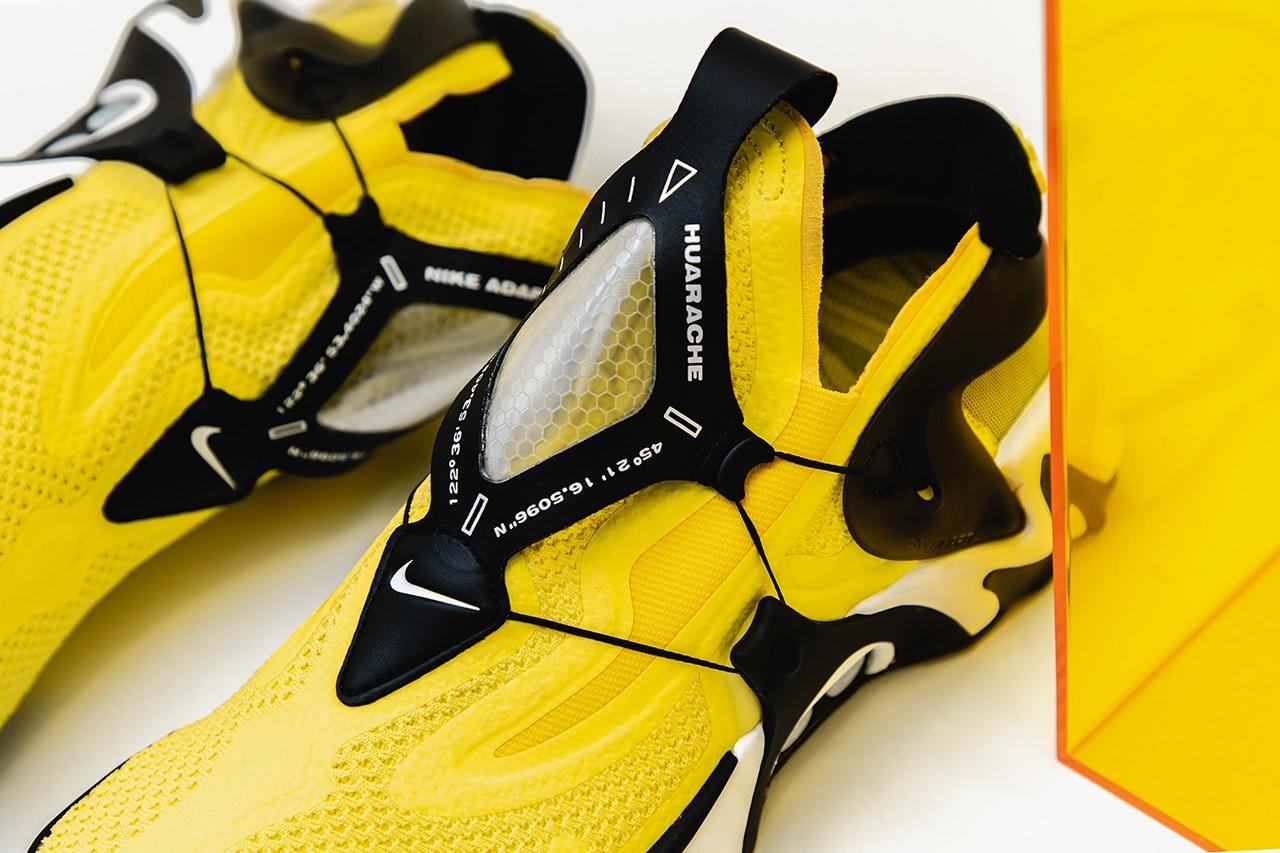 Nike Adapt Huarache Opti Yellow Planet Of The Sanquon