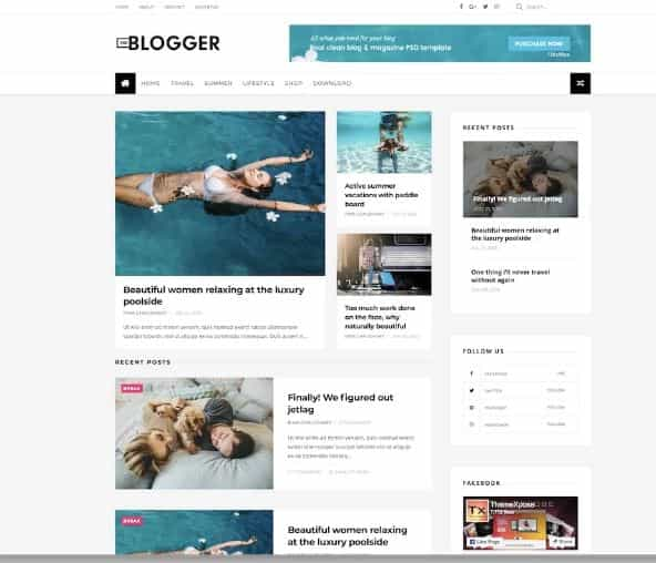 The Blogger templates