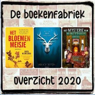 Overzicht van favoriete boeken in 2020 door De boekenfabriek