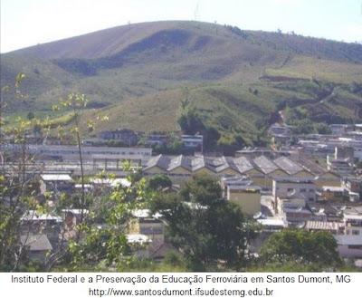 Instituto Federal e a Preservação da Educação Ferroviária em Santos Dumont, MG