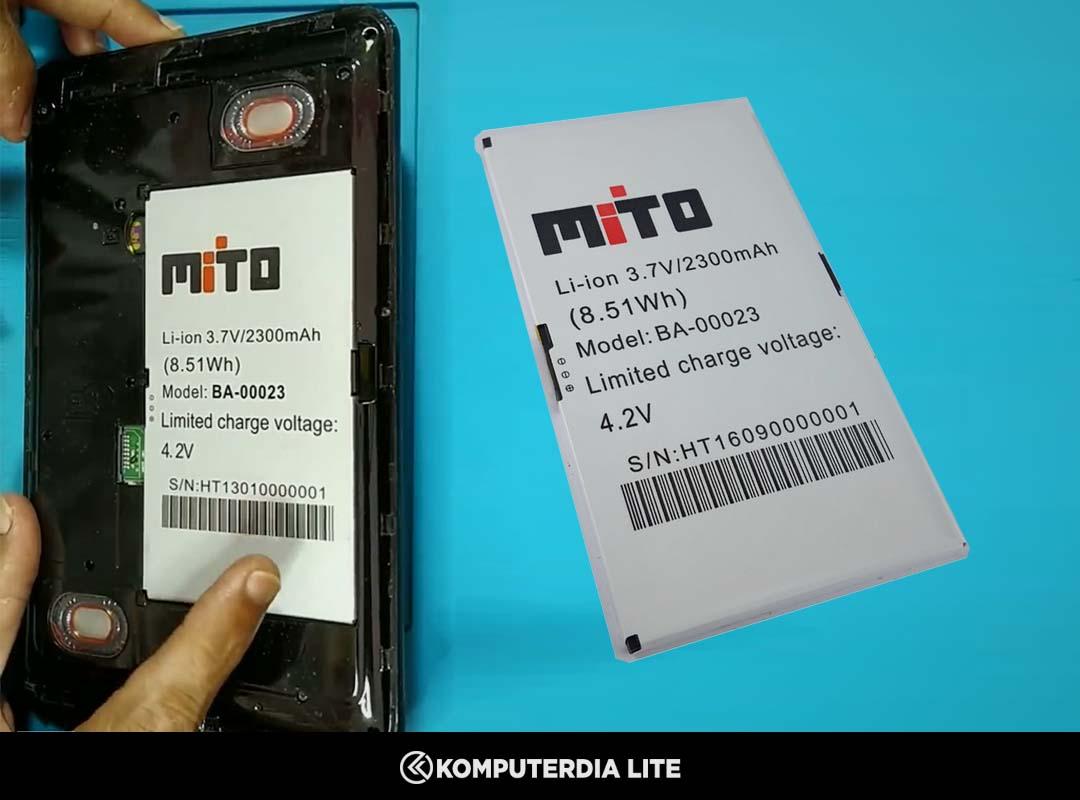 Analisa dan Mengatasi Tablet Mito T720 Mati Total Tidak Bisa di Cas (Charger)