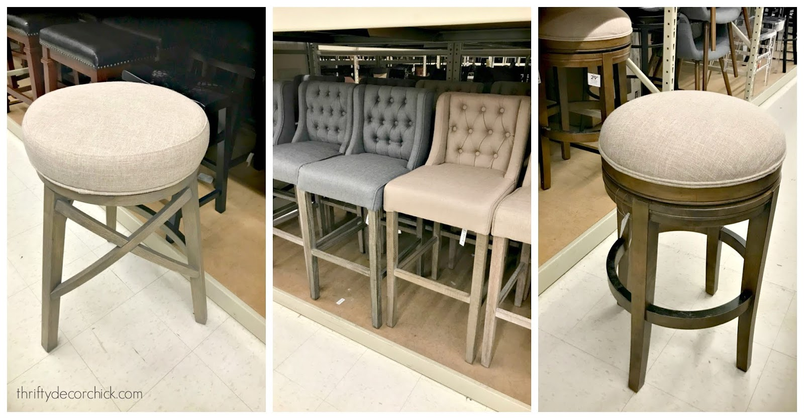 affordable upholstered counter stools