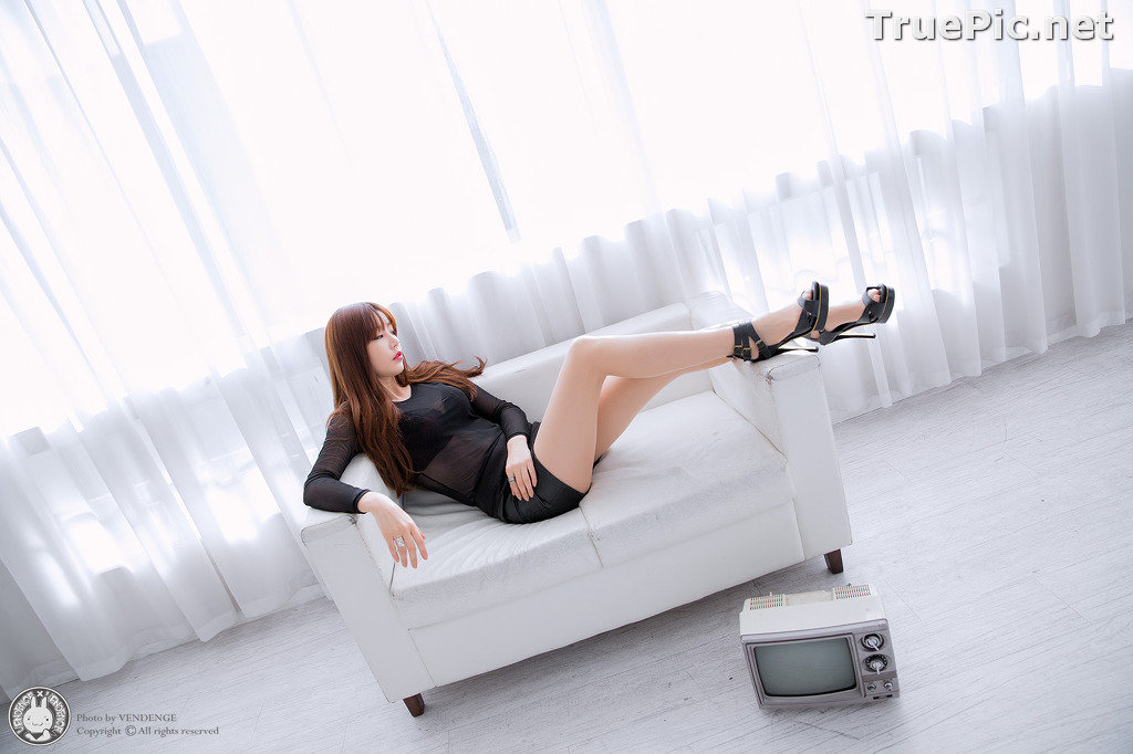 Image Korean Model - Hong Ji Yeon - Cute and Sexy In Studio - TruePic.net - Picture-3