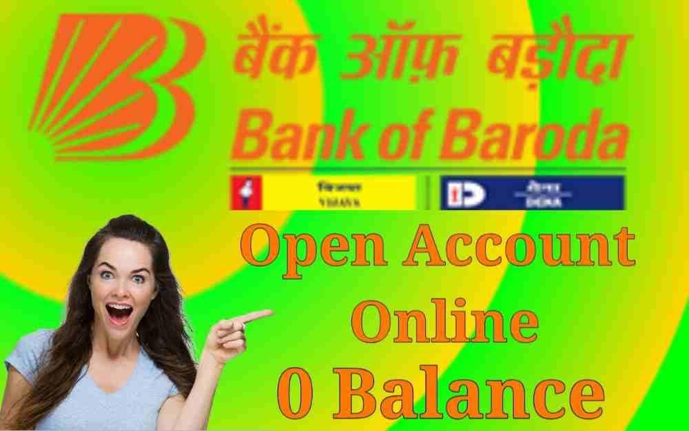 bank of baroda me account kaise khole