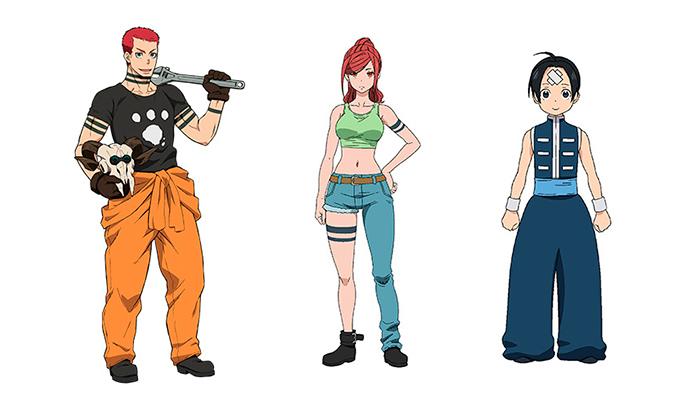 Fire Force (Ennen no Shuoboutai) anime - personajes