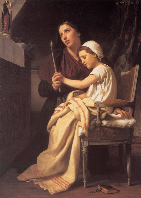 Адольф Вильям Бугро - Благодарственная жертва (1867)