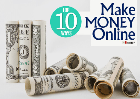 10 ways to make money online without paying anything at home
