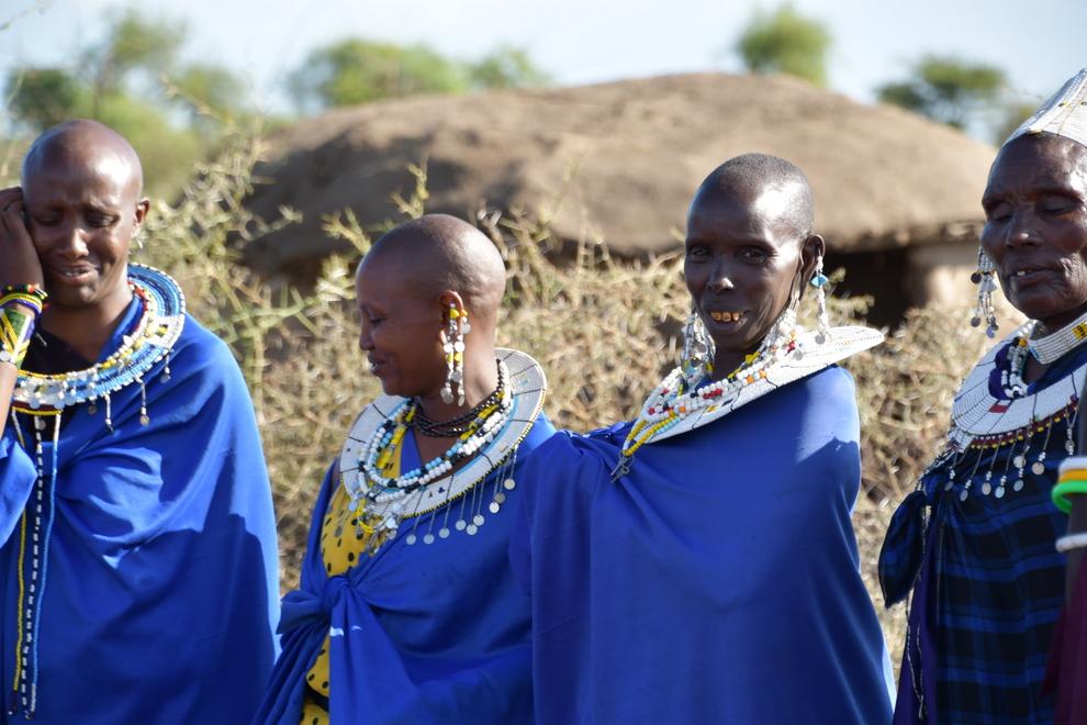 visita a um povoado Masai