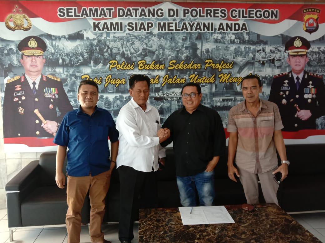 Tokoh Pers Banten Lengkapi Surat Untuk Balon Walikota Cilegon