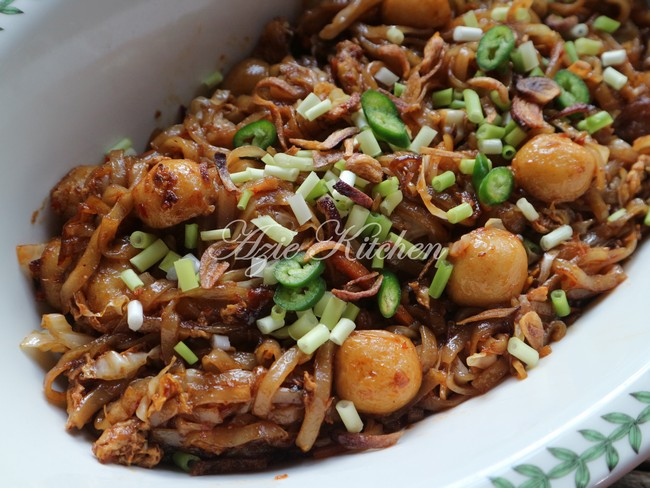 Kue Teow Goreng Simple Azie Kitchen