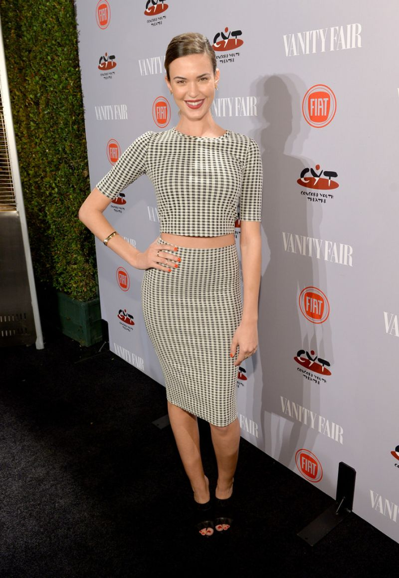 HD Photos of Odette Annable - At Vanity Fair And Fiat Young Hollywood Party In Los Angeles