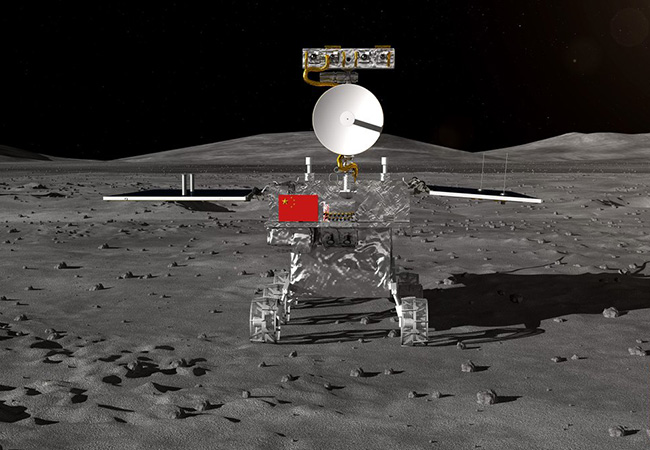 Tinuku China unveils Chang'e-4 rover to explore Moon's far side
