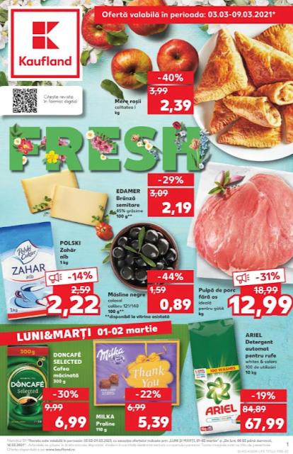 Kaufland Promotii + Catalog-Brosura 03-09.03 2021