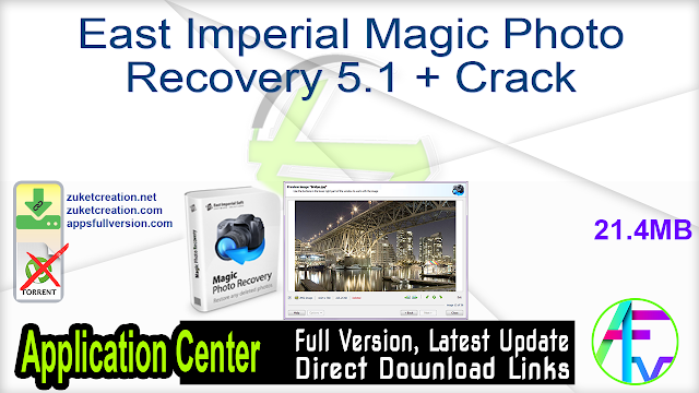 East Imperial Magic Photo Recovery 5.1 + Crack