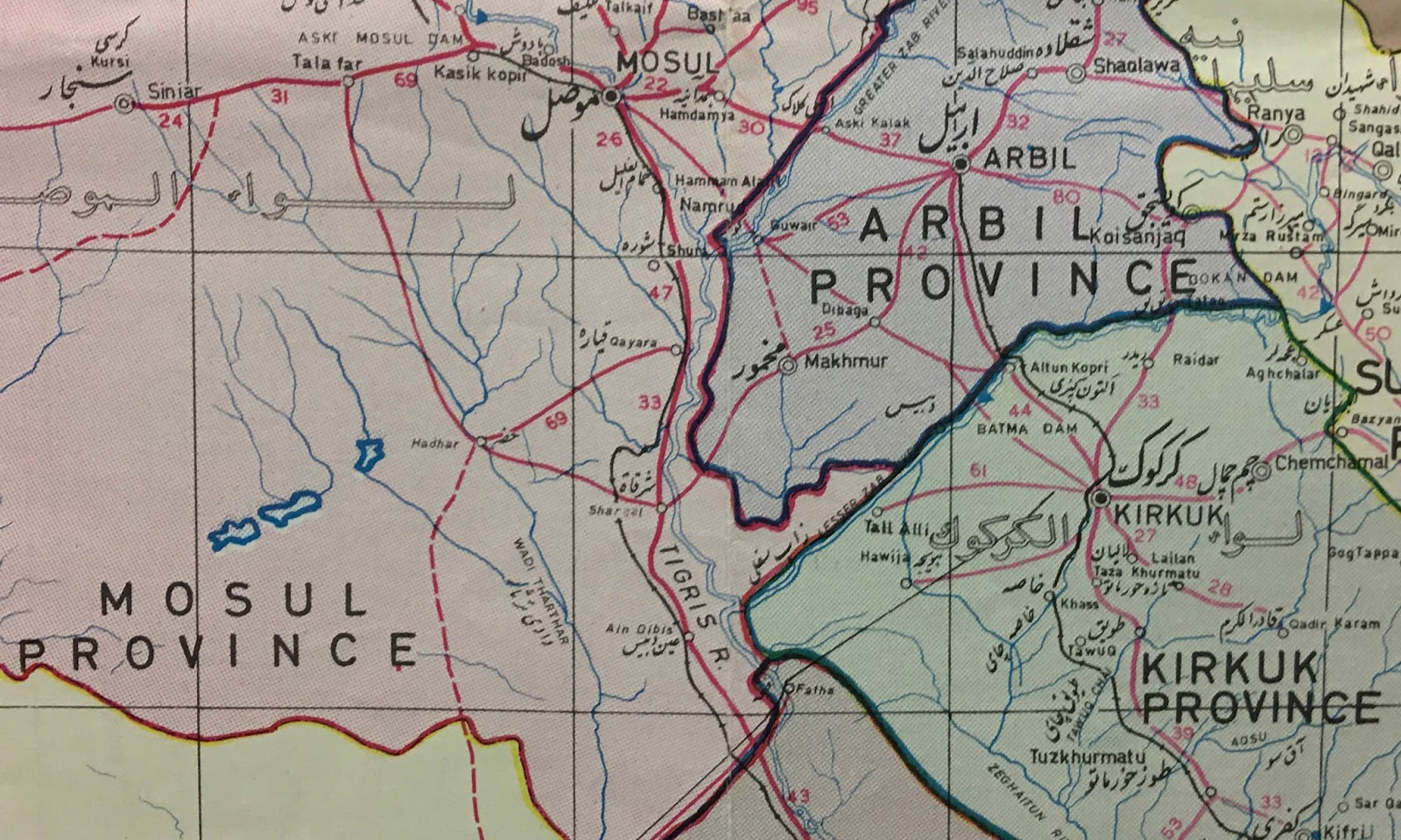 the battle for mosul in maps