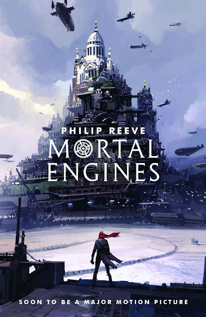 mortal engines cover illustrated by ian mcque