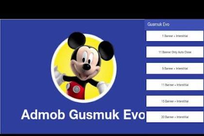 Download Tool Admob, Nuyul Admob Gusmuk Evo 2020 Anti Banned