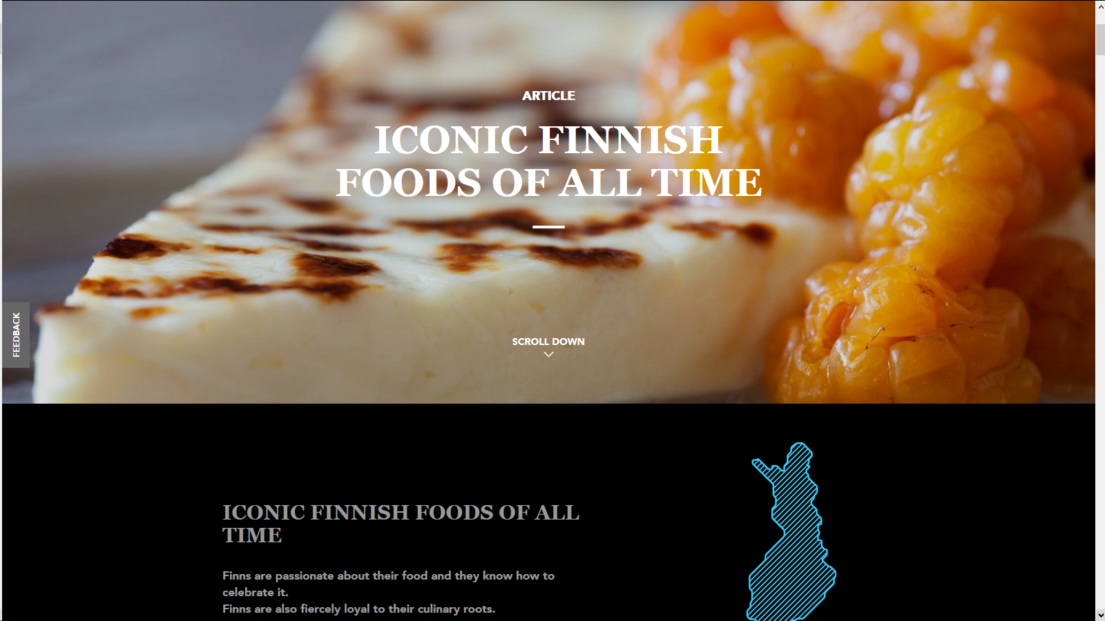 Iconic Finnish foods