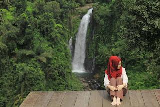 Pemandangan Asri Telaga Sunyi Baturaden