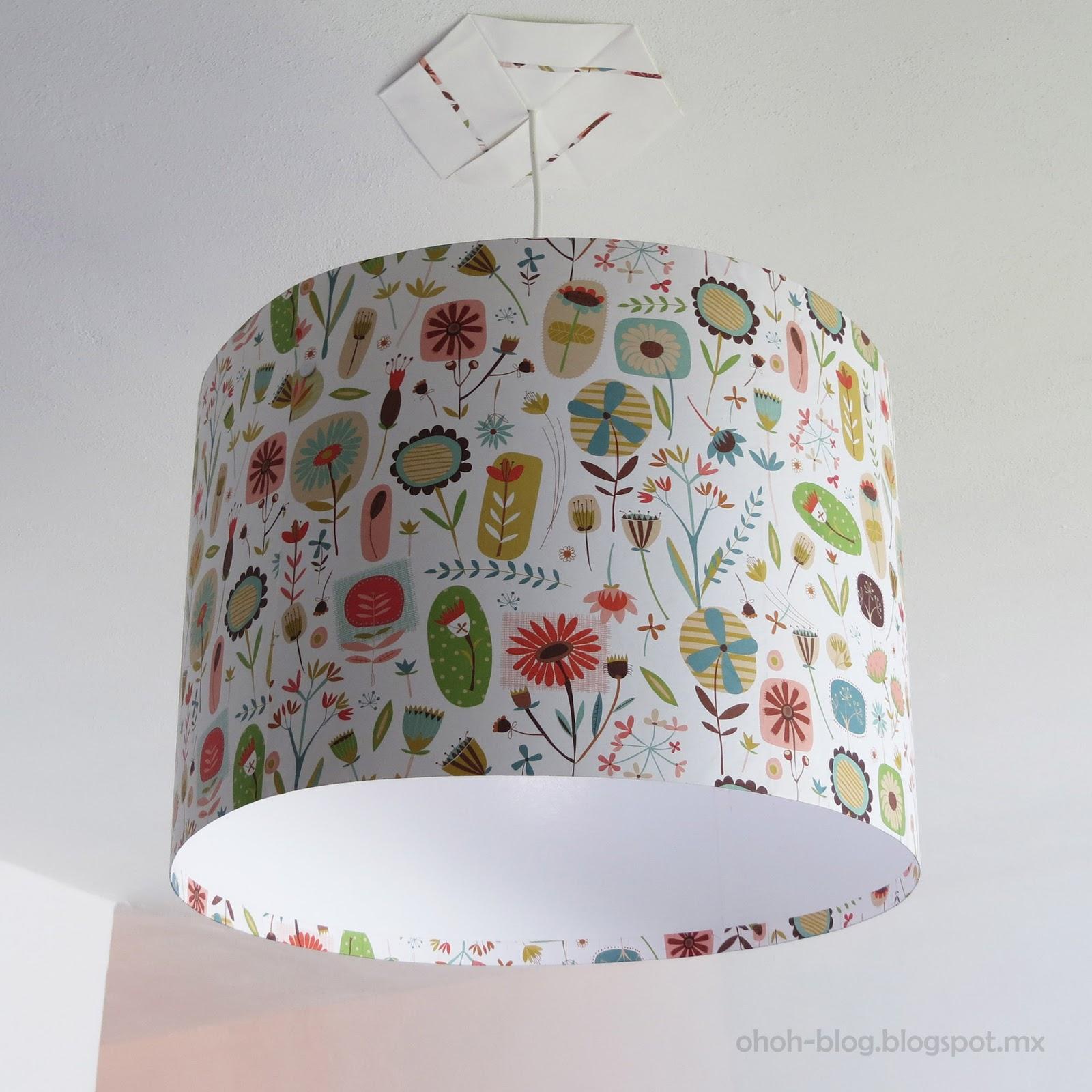 DIY Lampshade / Pantalla - Ohoh Blog