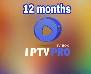 IPTVPRO   FULL Pack 12months