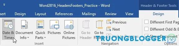 Cách tạo Header, Footer trên Word cho văn bản chuyên nghiệp