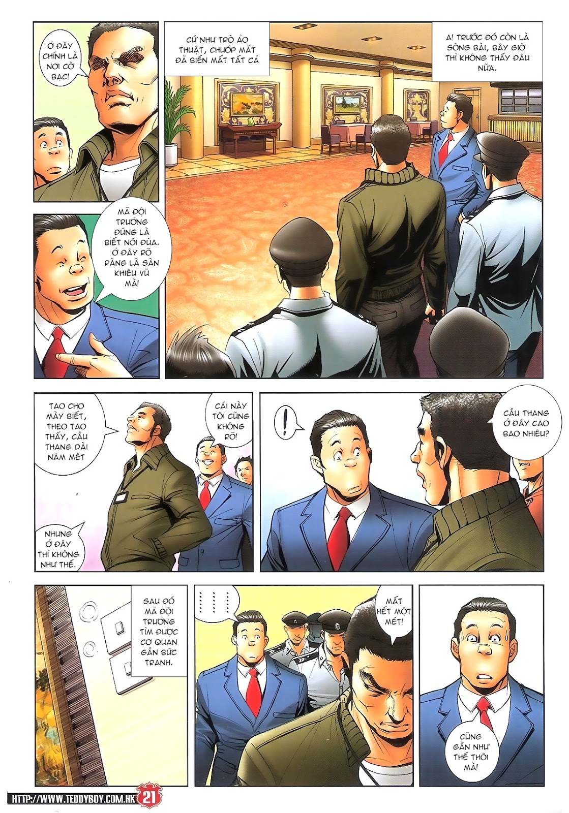 Người Trong Giang Hồ chapter 1696: giết vào vượng giác trang 20