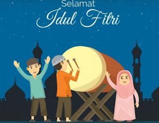 ucapan & gambar idul fitri 2020 -ucapan idul fitri ya ramadhan