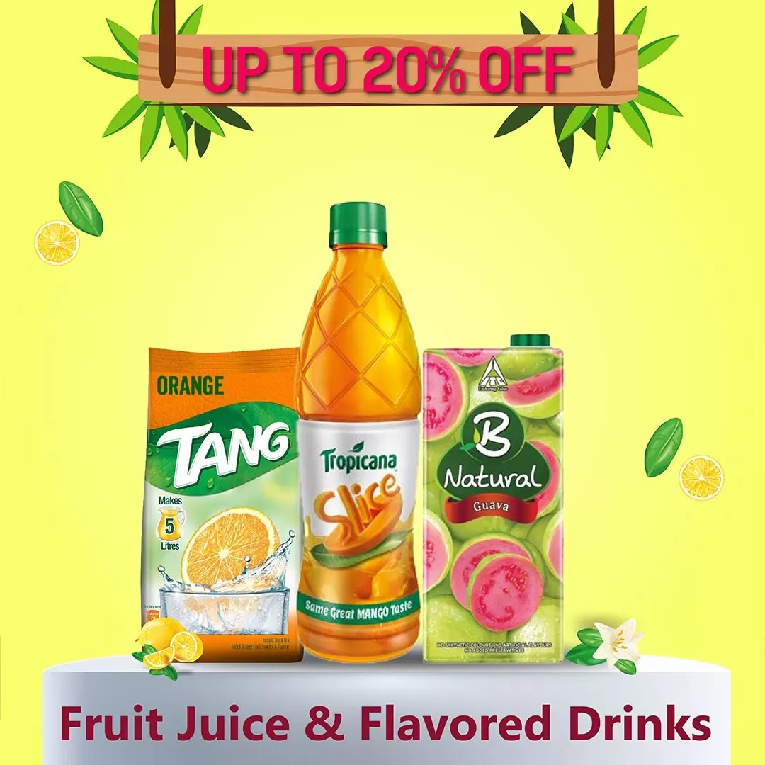 Fruit Juice Flavored Drinks 109