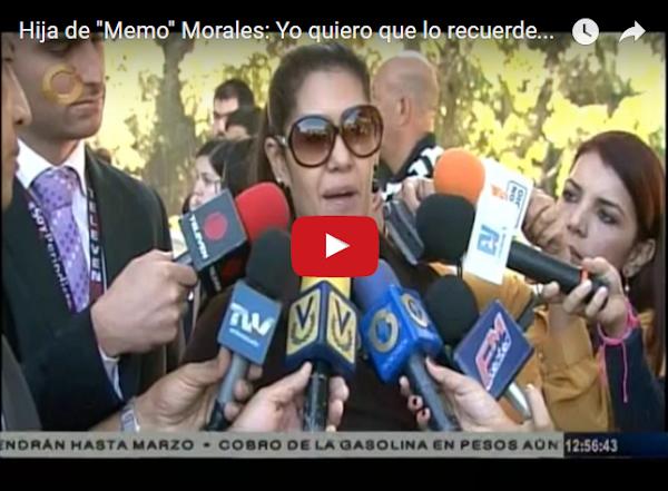 Entrevista a la hija de Memo Morales