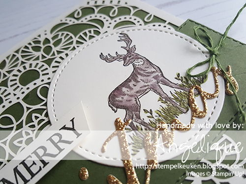#stempelkeuken #stampinup #stampinupnl #stampinupdemo #stamping #stempelen #birdballad #magnolia #magnolialane #rusticretreat #retreat #scrapretreat #papercrafting #cardmaking #kaartenmaken #merrychristmas #deer #rendier #bambi #kerst #kerst2019 #weihnachten #workshop #denhaag #westland #rotterdam #bigshot #stitchedshapes #meadow #winter