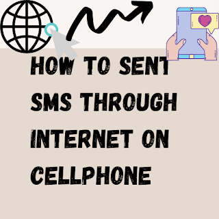 How to sent sms through Internet on Cellphone
