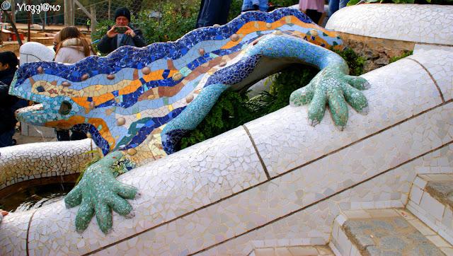 La Salamandra uno dei simboli di Gaudì e di Barcellona