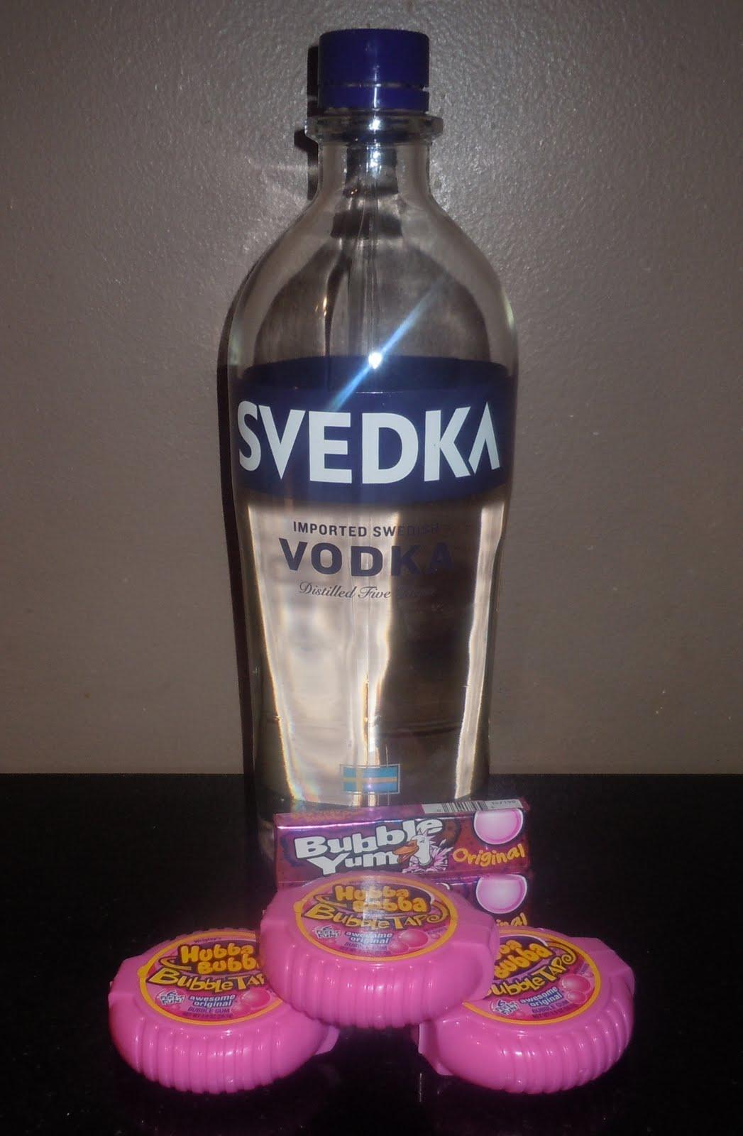 Bubble gum alcohol