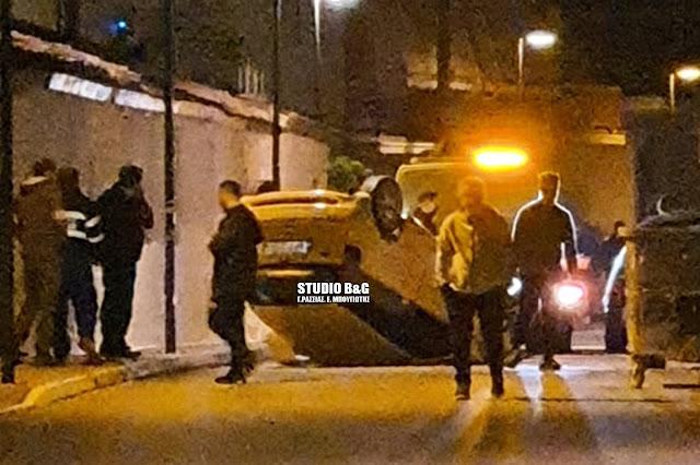 Ντελαπάρισε αυτοκίνητο μέσα στο Άργος
