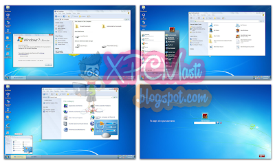 Windows 7 Skin Pack For Windows XP Free Download 100% Working at XPCMasti.blogspot.com