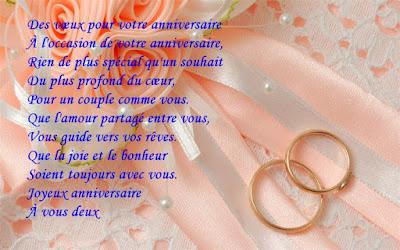 Texte d'anniversaire de mariage pour mon mari