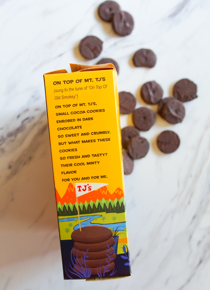Trader Joe's review : Mini Dark Chocolate Mint Coins >>> part of a weekly-ish review series from bakeat350.net #traderjoes