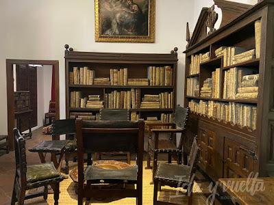 Casa Museo Lope de Vega biblioteca