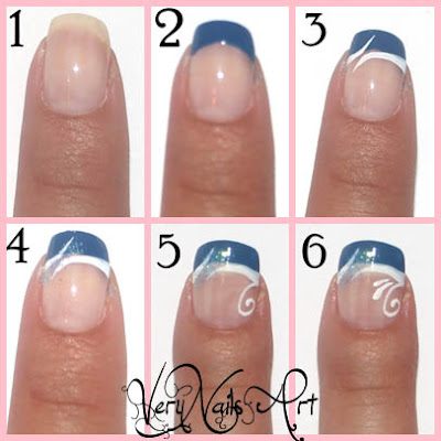 diseño uñas elegantes fácil paso a paso