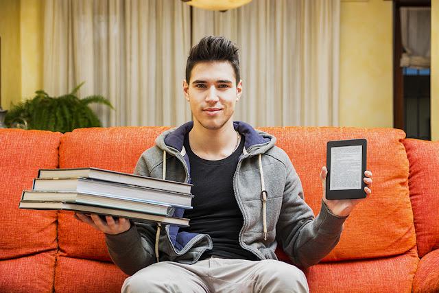 E-reader sau carti tiparite?