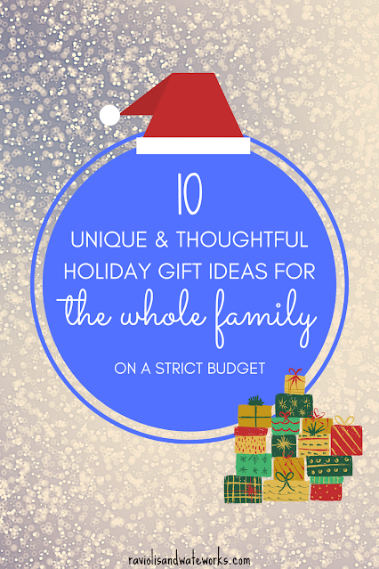 gift ideas for each family member; gift guide for everyone on your list