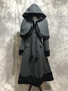 Classic Lolita lapel coat